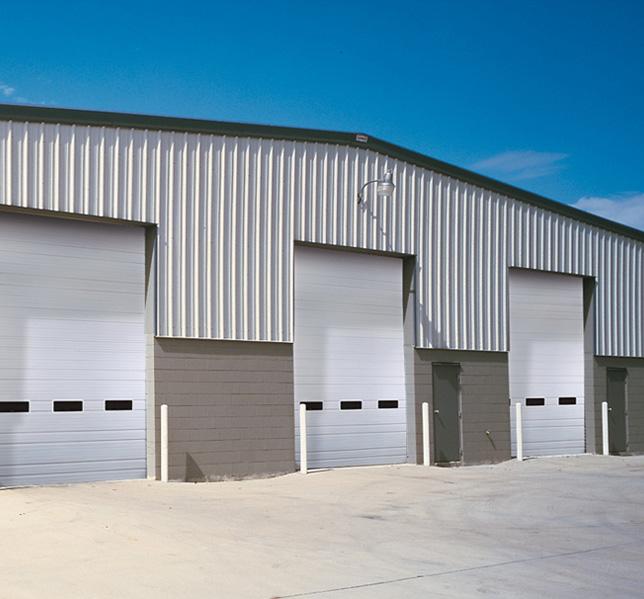 Industrial Garage Doors Ae Door And Window