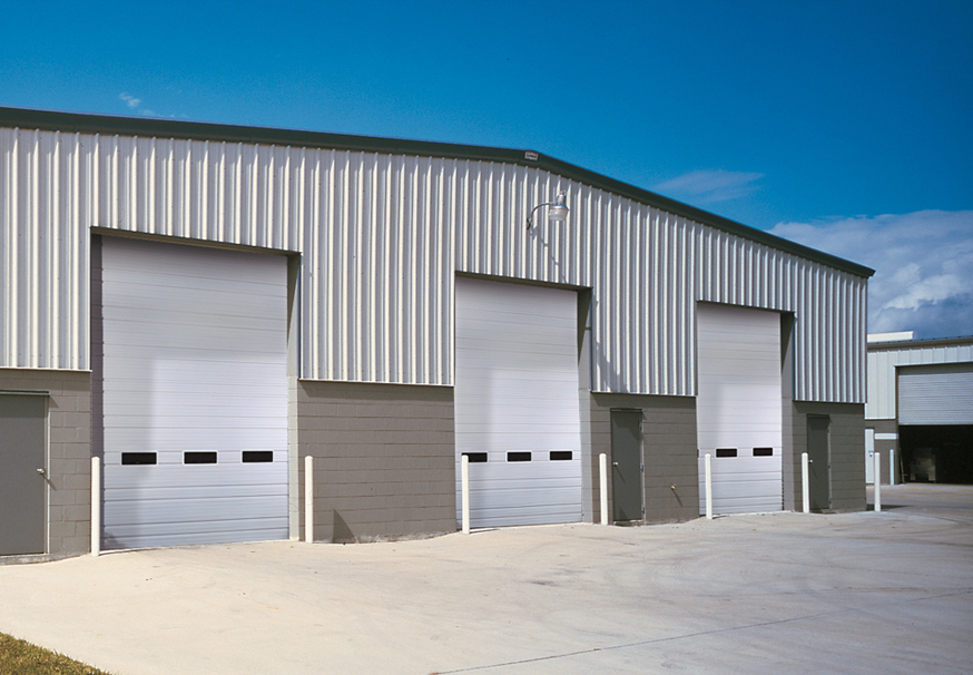 industrial garage door. Overhead \u0026 Sectional Doors Industrial Garage Door