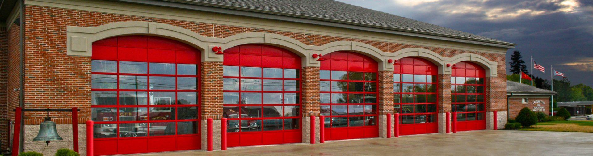 Commercial garage services ae door window for Garage door repair grove city ohio
