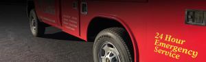 AE Garage door truck