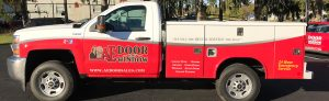 AE Door and Window truck