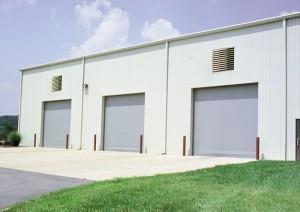 three Thermiser™ insulated garage doors