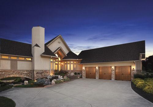 Canyon Ridge Ultra Grain Garage Door