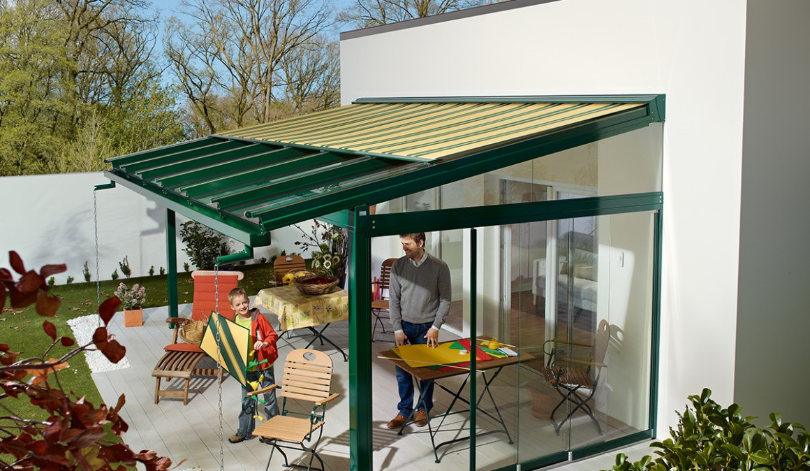 Tension Shade Structures garage doors