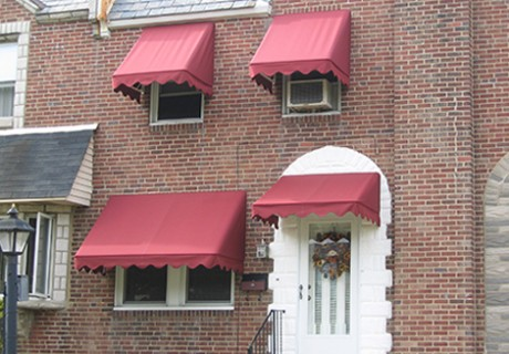Fabric Window and Door Awnings garage doors