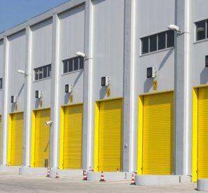 Industrial warehouse doors