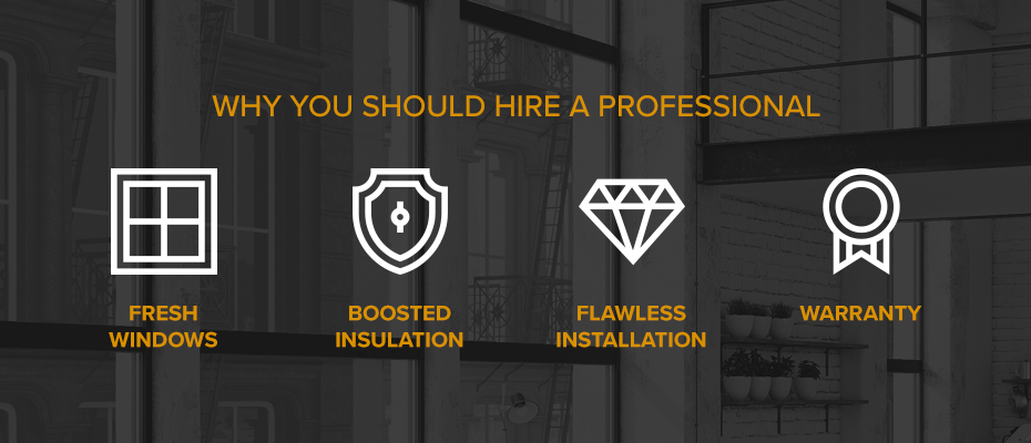 Why you should hire a professional for your window repair or replacement