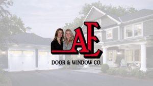 AE Door & Window logo